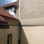 Ochranná sít proti holubům
